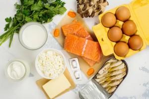 D vitamin tartalmú ételek